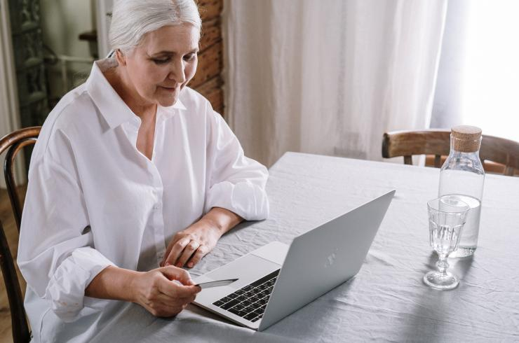 Be Connected older person online